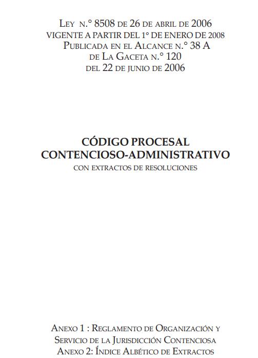 Código Procesal Contencioso-Administrativo Comentado